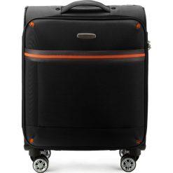 Walizka kabinowa 56-3S-491-10. Czarne walizki marki Wittchen, małe. Za 179,00 zł.