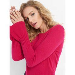 Sweter z domieszką kaszmiru. Czerwone swetry klasyczne damskie Orsay, xs, z dzianiny. Za 119,99 zł.