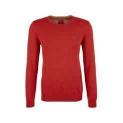 Swetry klasyczne męskie: S.Oliver Sweter Męski Xxl Pomarańczowy