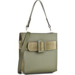 Torebka CREOLE - K10449 C. Zielony. Zielone torebki klasyczne damskie marki Creole, ze skóry, duże. W wyprzedaży za 259,00 zł.