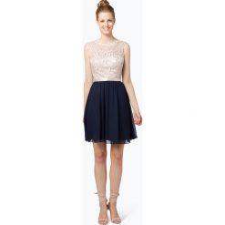 Laona - Elegancka sukienka damska, beżowy. Brązowe sukienki balowe marki Laona, w koronkowe wzory, z koronki. Za 449,95 zł.