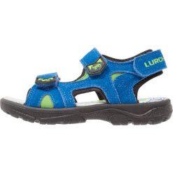 Lurchi KREON Sandały trekkingowe royal. Czarne sandały męskie skórzane marki Lurchi. W wyprzedaży za 135,85 zł.