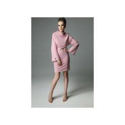 Sukienka Ellen the Tube - dirty pink. Czerwone sukienki balowe Madnezz, s, z aplikacjami, z bawełny, ze stójką. Za 239,00 zł.