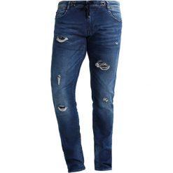 Le Temps Des Cerises Jeansy Slim Fit blue. Niebieskie jeansy męskie Le Temps Des Cerises. W wyprzedaży za 224,50 zł.