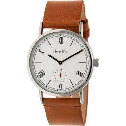 """Zegarki męskie: Zegarek kwarcowy """"the 5100"""" w kolorze brązowo-srebrno-białym"""
