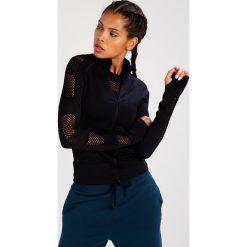 Bluzy rozpinane damskie: Ivy Park NET ZIP THRU Bluza rozpinana black