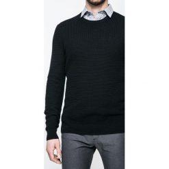 Medicine - Sweter Lord and Master. Niebieskie swetry klasyczne męskie marki Reserved, l, z okrągłym kołnierzem. W wyprzedaży za 79,90 zł.