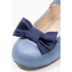 Babywalker Baleriny z zapięciem blue royal. Szare baleriny dziewczęce marki Babywalker, z materiału, klasyczne. W wyprzedaży za 223,30 zł.