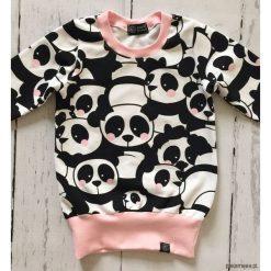 Bluzy dziewczęce rozpinane: Bluza, tunika w pandy