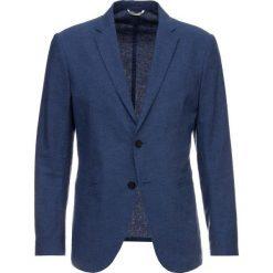 Marynarki męskie slim fit: Sisley Marynarka garniturowa royal blue