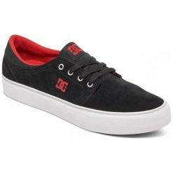 Tenisówki męskie: DC Trampki Trase Sd M Shoe Black/Red 44
