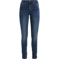 KIOMI Jeans Skinny Fit blue denim. Niebieskie boyfriendy damskie KIOMI. Za 169,00 zł.