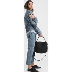 Bomberki damskie: AllSaints ROSE OVERSIZE  Kurtka jeansowa indigo blue