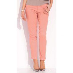 Spodnie z wysokim stanem: Luksusowe damskie spodnie Dena 016