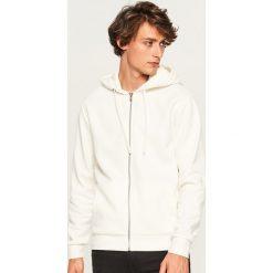 Bluza z kapturem - Kremowy. Białe bluzy męskie rozpinane Reserved, l, z kapturem. Za 79,99 zł.