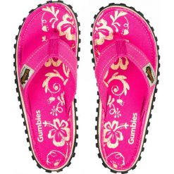Chodaki damskie: Gumbies – Japonki Islander Pink Hibiscu