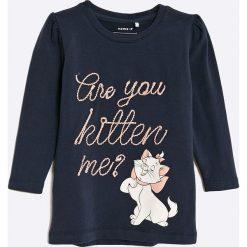 Bluzki dziewczęce bawełniane: Name it - Bluzka dziecięca Disney Marie Faith 80-110 cm