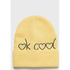 Haily's - Czapka Cool. Brązowe czapki zimowe damskie Haily's, na zimę, z dzianiny. W wyprzedaży za 19,90 zł.