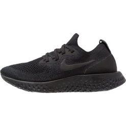 Nike Performance EPIC REACT FLYKNIT Obuwie do biegania treningowe black. Czarne buty do biegania damskie marki Nike Performance, z materiału. Za 629,00 zł.
