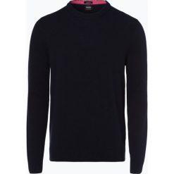 Swetry klasyczne męskie: BOSS Casual - Sweter męski – Amitrovo, niebieski
