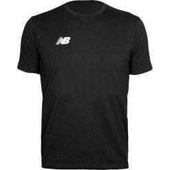 Koszulka treningowa - EMT6123BK. Czarne koszulki do piłki nożnej męskie New Balance, na jesień, m, z materiału. Za 109,99 zł.