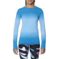 Asics Koszulka fuzeX Seampless LS niebieska r. XS (141215 8012). Niebieskie topy sportowe damskie marki Asics, m, z elastanu. Za 149,00 zł.