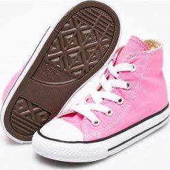 Converse - Trampki dziecięce. Różowe buty sportowe dziewczęce Converse, z materiału. W wyprzedaży za 149,90 zł.