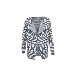 Swetry rozpinane / Kardigany Tommy Jeans  IZY. Niebieskie kardigany damskie Tommy Jeans, l, z jeansu. Za 398,30 zł.