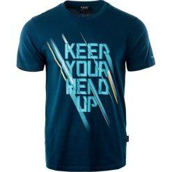 Hi-tec Koszulka HOOF NAVY XL. Niebieskie koszulki sportowe męskie marki Hi-tec, m. Za 28,14 zł.