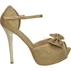 Buty ślubne damskie: CZÓŁENKA CASU 7CR-GH84042