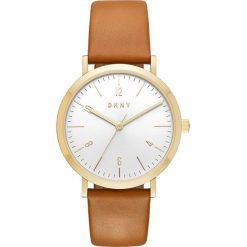 Zegarek DKNY - Minetta NY2613 Brown/Gold. Brązowe zegarki damskie DKNY. W wyprzedaży za 549,00 zł.