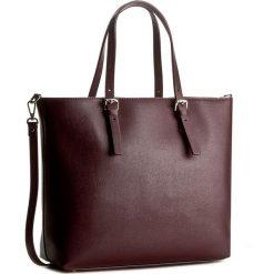 Torebka CREOLE - K10337 Bordowy. Czerwone torebki klasyczne damskie Creole, ze skóry. W wyprzedaży za 259,00 zł.