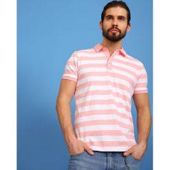T-SHIRT POLO MĘSKI. Szare koszulki polo marki Top Secret, na lato, m. Za 39,99 zł.