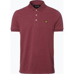 Koszulki polo: Lyle & Scott - Męska koszulka polo, czerwony