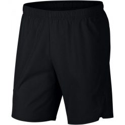 Nike Męskie Spodenki Sportowe M Nkct Flx Ace Short 9in Black White 2xl. Białe spodenki sportowe męskie marki Nike, sportowe. Za 215,00 zł.