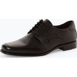 Lloyd - Męskie buty sznurowane ze skóry – Kelton, czarny. Czarne buty wizytowe męskie Lloyd, ze skóry, na sznurówki. Za 699,95 zł.