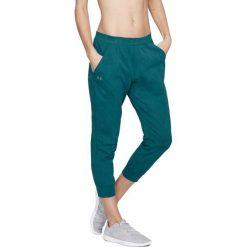 Spodnie sportowe damskie: Under Armour Spodnie damskie TB Balance Mesh Loose Crop zielone r. S (1305469-716)