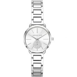 Zegarek MICHAEL KORS - Portia MK3837 Silver/Silver. Szare zegarki damskie Michael Kors. Za 1050,00 zł.