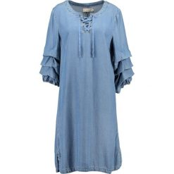 Sukienki hiszpanki: Cream VIVI DRESS Sukienka jeansowa light blue denim