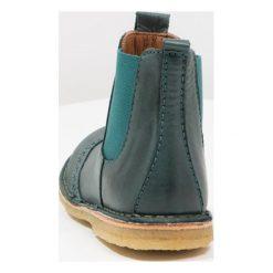 Bisgaard Botki petrol. Zielone buty zimowe damskie Bisgaard, z materiału. W wyprzedaży za 299,25 zł.