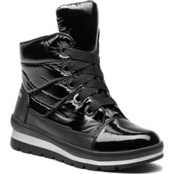 Śniegowce CAPRICE - 9-26212-21 Black Comb 019. Czarne buty zimowe damskie Caprice, z materiału. Za 299,90 zł.