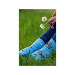 Dmuchawiec - kolorowe skarpetki Spox Sox. Niebieskie skarpetki męskie marki Spox sox, w kolorowe wzory. Za 20,00 zł.