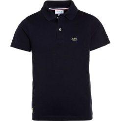 Lacoste Koszulka polo marine. Szare bluzki dziewczęce bawełniane marki Lacoste. Za 499,00 zł.