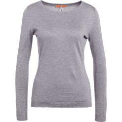 Swetry klasyczne damskie: BOSS Orange IDDYENNA Sweter medium grey