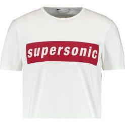 T-shirty męskie z nadrukiem: Samsøe & Samsøe SUPERSONIC Tshirt z nadrukiem white