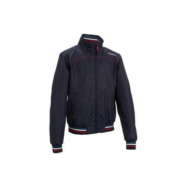 6c4df92ff Bluza nieprzemakalna JKT500 gr - Niebieskie bluzy damskie FOUGANZA ...