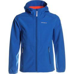 Icepeak TEIKO  Kurtka Softshell aqua. Niebieskie kurtki dziewczęce softshell marki Icepeak, z elastanu. Za 169,00 zł.