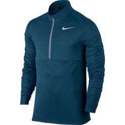 Bluza do biegania męska NIKE DRI-FIT RUNNING TOP HALF ZIP / 856827-474 - RUNNING TOP HALF ZIP. Niebieskie bluzy męskie rozpinane Nike, m. Za 127,00 zł.