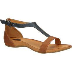 SANDAŁY CARINII B1674-521. Brązowe sandały damskie Casu. Za 159,99 zł.