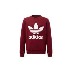 Polary Dziecko adidas  Bluza z zaokrąglonym dekoltem Trefoil. Czarne bluzy dziewczęce rozpinane marki Nike. Za 179,00 zł.